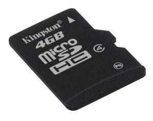 microSDHC Karte – Klasse 4