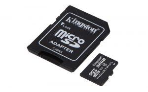 Industrial Temperature microSD UHS-I